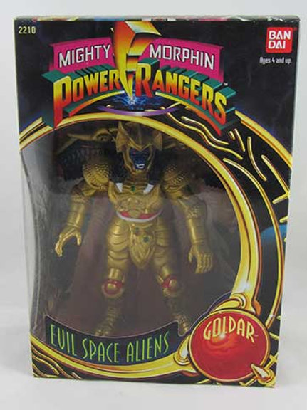"Mighty Morphin Power Rangers Evil Space Aliens Goldar 8"" Action Figure"