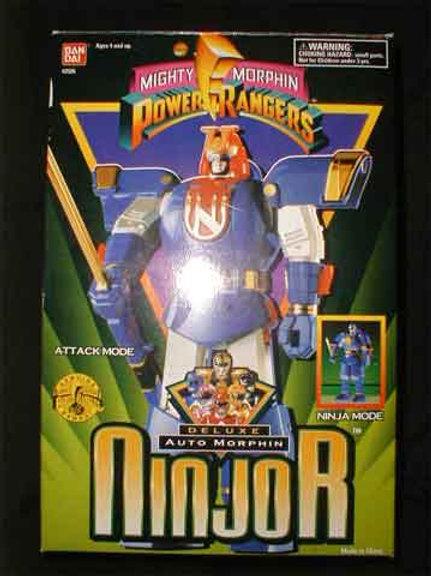 """Mighty Morphin Power Rangers Ninjor Deluxe 10"""" Action Figure"""