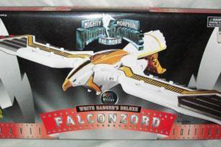 Mighty Morphin Power Rangers White Ranger's Deluxe Movie Edition Falconzord