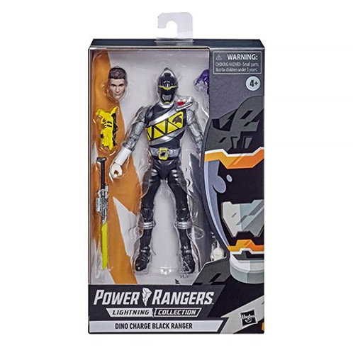 POWER RANGERS LIGHTNING COLLECTION Dino Charge Black Ranger