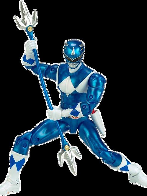 Power Rangers Legacy Collection Metallic Mighty Morphin Blue Ranger