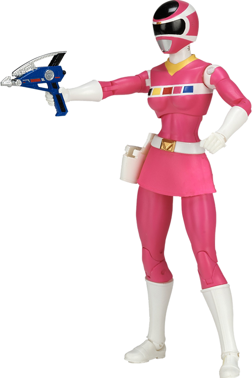 Power Rangers Legacy Collection Wave 3 Pink In Space Ranger