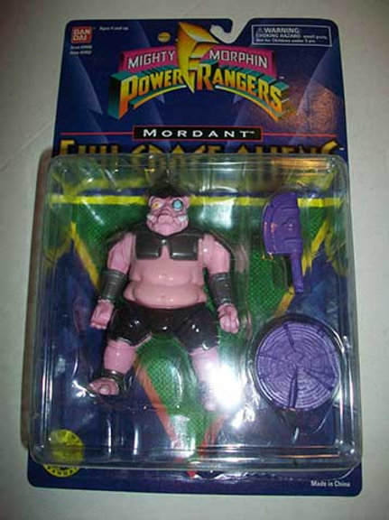 """Mighty Morphin Power Rangers Evil Space Aliens 5.5"""" Movie Edition Mordant"""