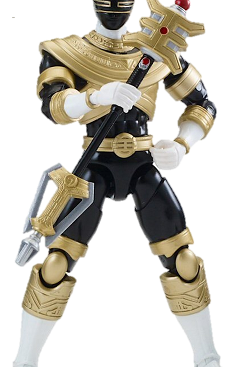 Power Rangers Legacy Collection Wave 4 Gold Zeo Ranger