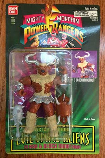 "Mighty Morphin Power Rangers Evil Space Aliens 5.5"" Devouring Snizard Lips"