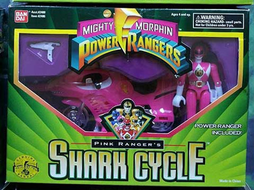 Mighty Morphin Power Rangers Pink Ranger's Shark Cycle