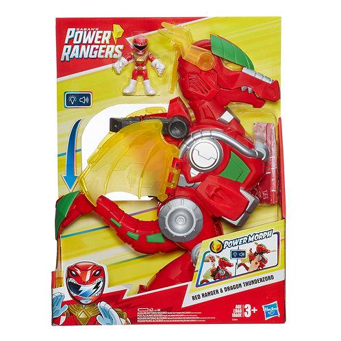 Power Rangers Playskool Preschool Red Dragon Thunderzord
