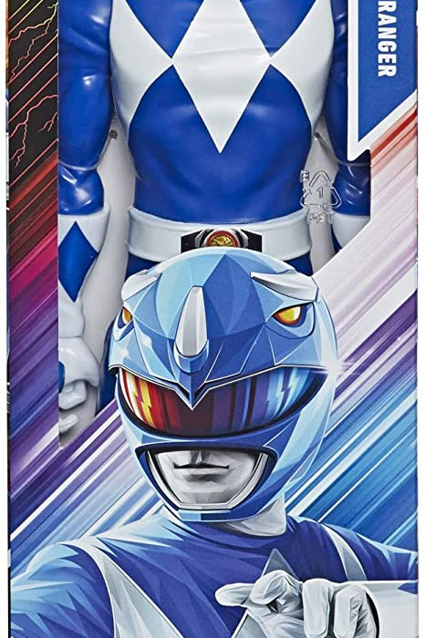 "Power Rangers Mighty Morphin 12"" Blue Ranger Classic Figure"