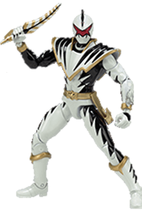 Power Rangers Legacy Collection Wave 6 White Dino Thunder Ranger