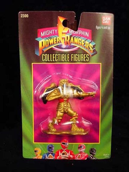 "Mighty Morphin Power Rangers 3"" Collectible Figures Series 1 Goldar"