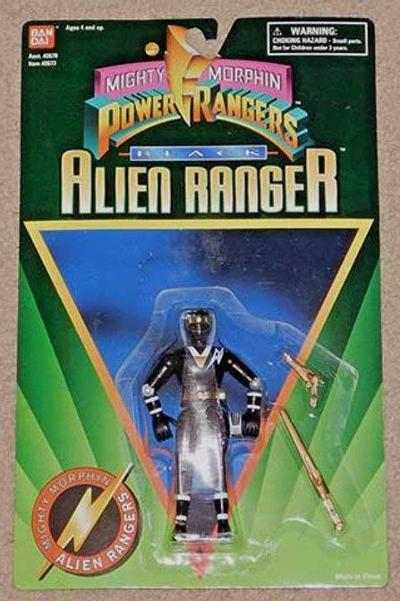 """Mighty Morphin Power Rangers 5"""" Black Alien Ranger"""