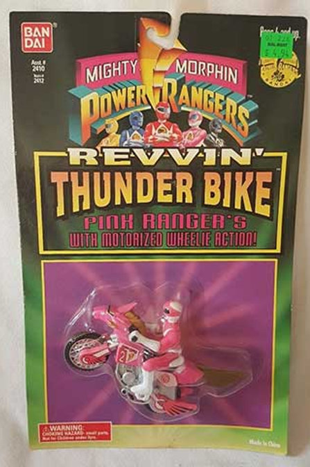 Mighty Morphin Power Rangers Pink Ranger's Revvin' Thunder Bike