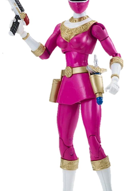 Power Rangers Legacy Collection Wave 5 Pink Zeo Ranger