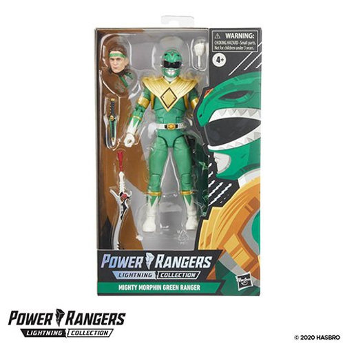 POWER RANGERS LIGHTNING COLLECTION (Spectrum Series Wave 1) Mighty Morphin Green