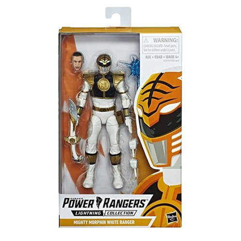 POWER RANGERS LIGHTNING COLLECTION WAVE 1 MIGHTY MORPHIN WHITE RANGER