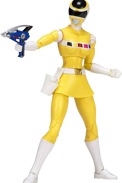 Power Rangers Legacy Collection Wave 2 Yellow In Space Ranger