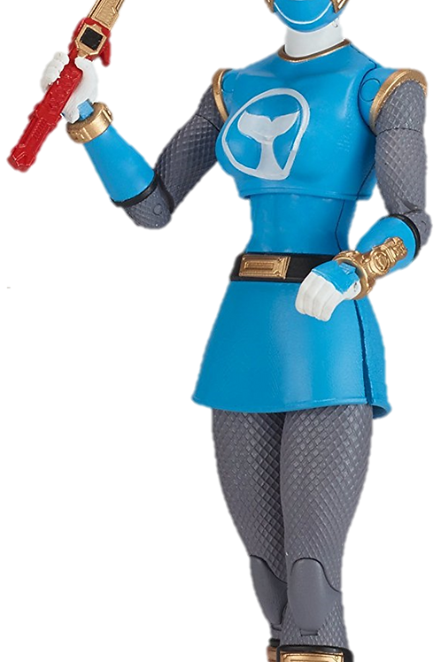 Power Rangers Legacy Collection Wave 1 Blue Wind Ranger
