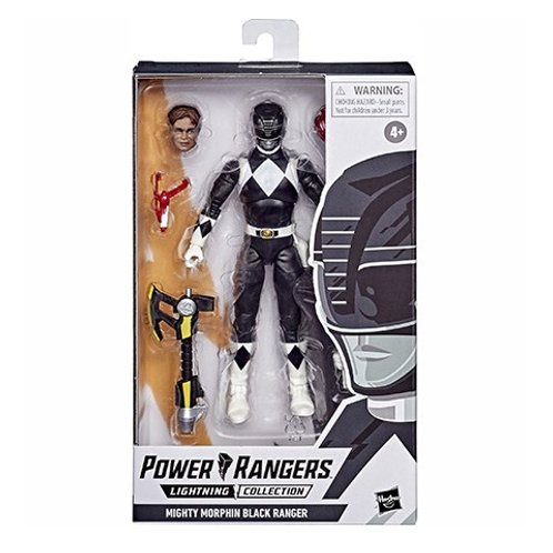 POWER RANGERS LIGHTNING COLLECTION (Wave 6) Mighty Morphin Black Ranger