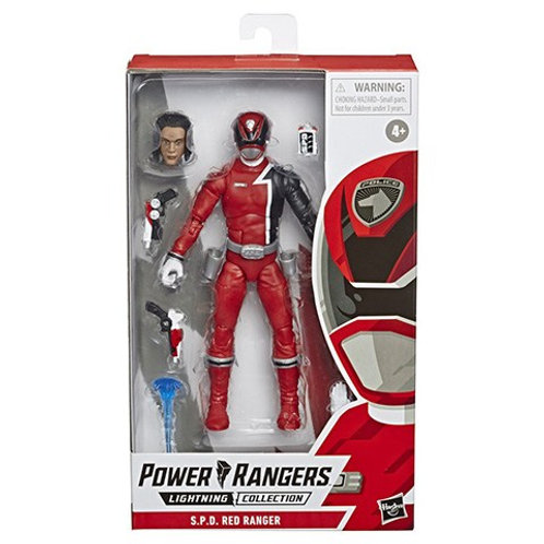 POWER RANGERS LIGHTNING COLLECTION WAVE 4 S.P.D. RED RANGER