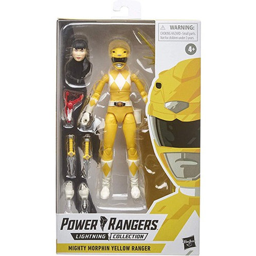POWER RANGERS LIGHTNING COLLECTION WAVE 4 MIGHTY MORPHIN YELLOW RANGER