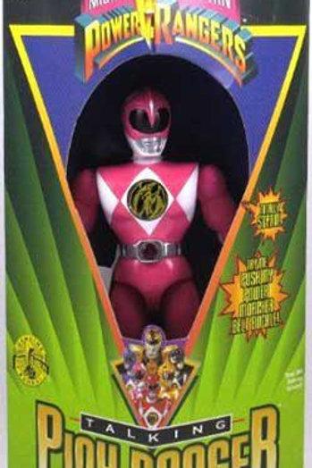 "Mighty Morphin Power Rangers 8"" Talking Pink Power Ranger"