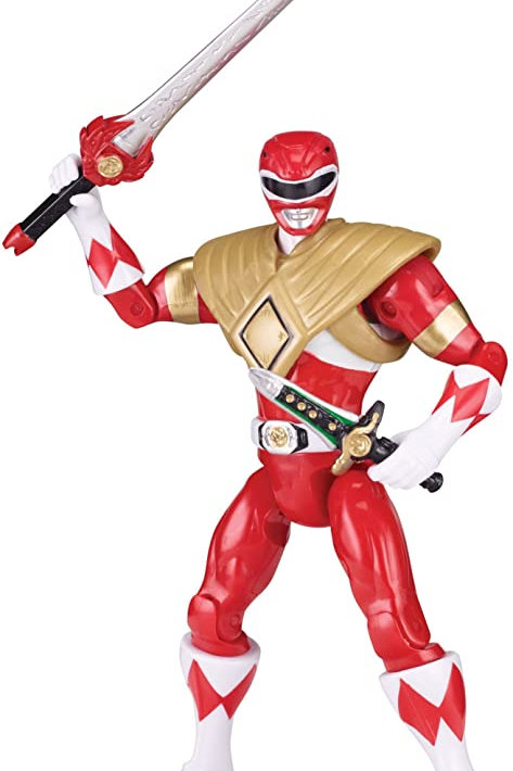 Power Rangers Legacy Collection Gamestop Exclusive Mighty Morphin Armored Red Ra