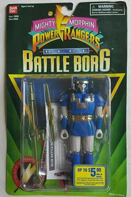 Mighty Morphin Power Rangers Alien Rangers Blue Battle Borg