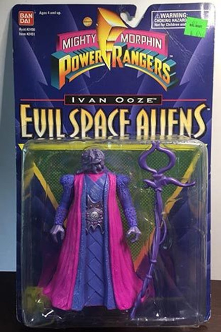 "Mighty Morphin Power Rangers Evil Space Aliens 5.5"" Movie Edition Ivan Ooze"