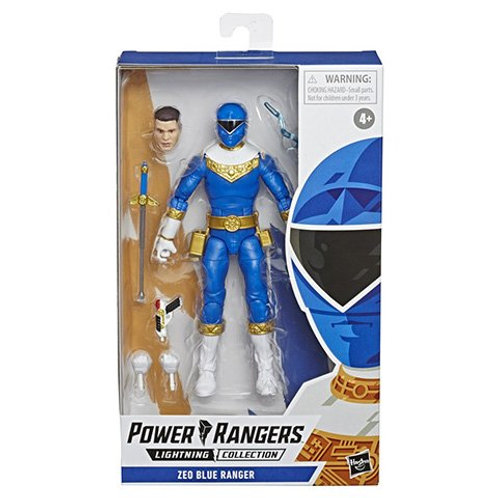 POWER RANGERS LIGHTNING COLLECTION WAVE 4 ZEO BLUE RANGER