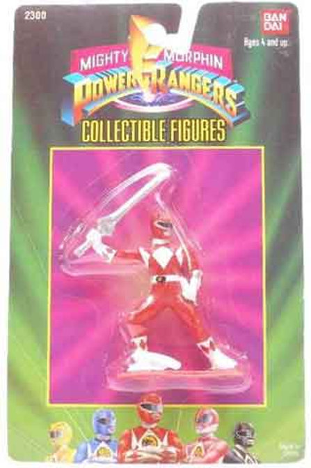 "Mighty Morphin Power Rangers 3"" Collectible Figures Series 1 Red Ranger"