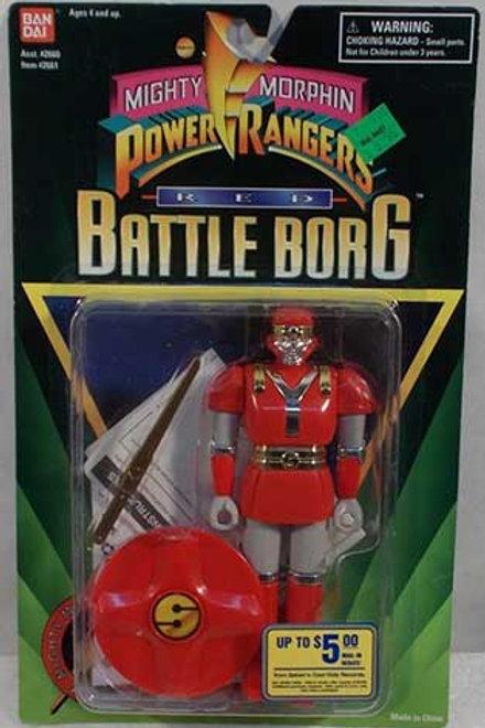 Mighty Morphin Power Rangers Alien Rangers Red Battle Borg