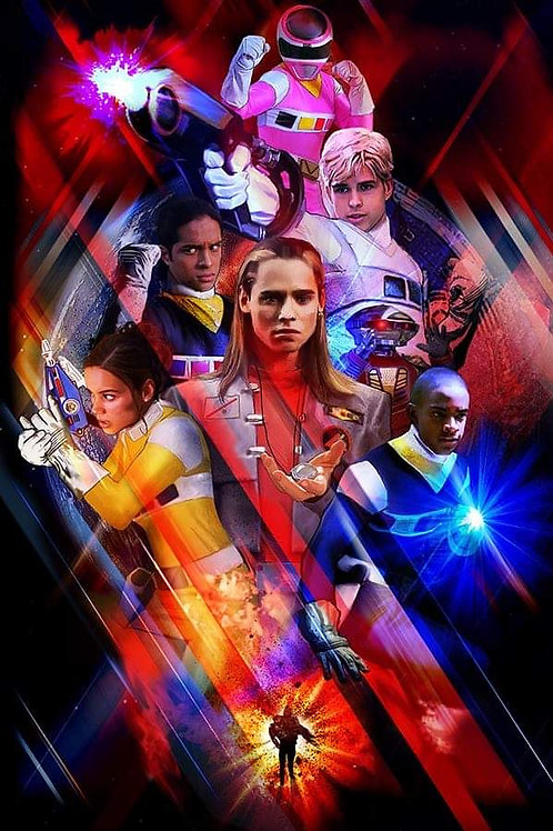 Rangerstop  Convention Exclusive 11x17 Print In Space by Griff Art