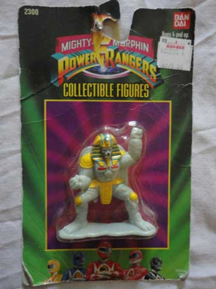 "Mighty Morphin Power Rangers 3"" Collectible Figures Series 1 King Sphinx"