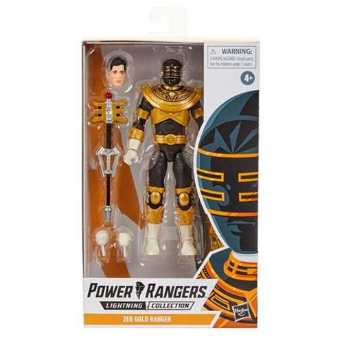 POWER RANGERS LIGHTNING COLLECTION WAVE 5 ZEO GOLD RANGER