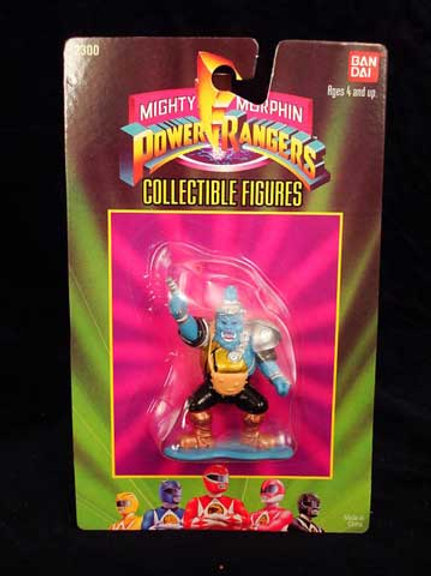 "Mighty Morphin Power Rangers 3"" Collectible Figures Series 1 Squatt"