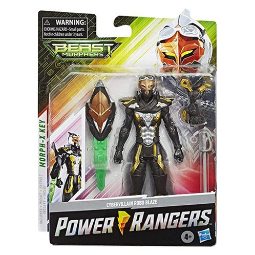 Power Rangers Beast Morphers Cybervillain Robo Blaze Action Figure