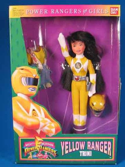 "Mighty Morphin Power Rangers 9"" Trini Yellow Ranger Doll"