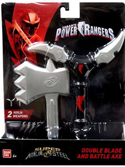 Double Blade and Battle Axe