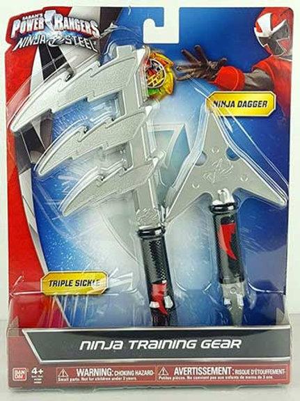 Ninja Training Gear (Triple Sickle & Ninja Dagger)