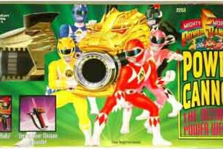 Mighty Morphin Power Rangers Power Cannon The Ultimate Power Weapn
