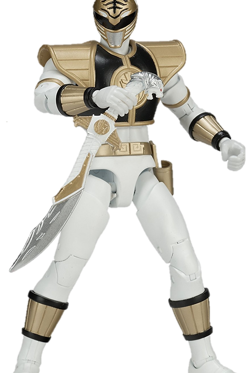 Power Rangers Legacy Collection Wave 3 Mighty Morphin White Ranger