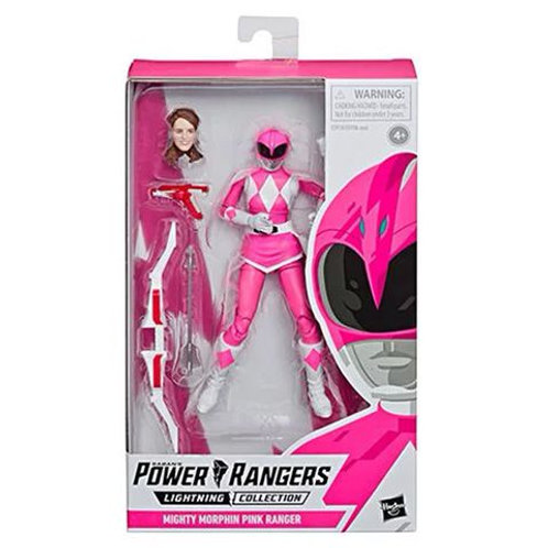 POWER RANGERS LIGHTNING COLLECTION WAVE 2 MIGHTY MORPHIN PINK RANGER