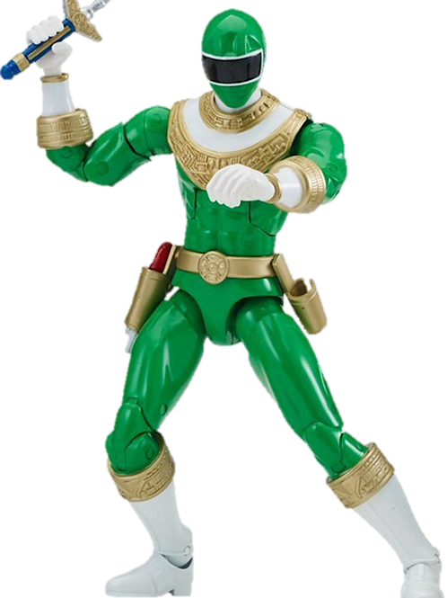 Power Rangers Legacy Collection Wave 4 Green Zeo Ranger