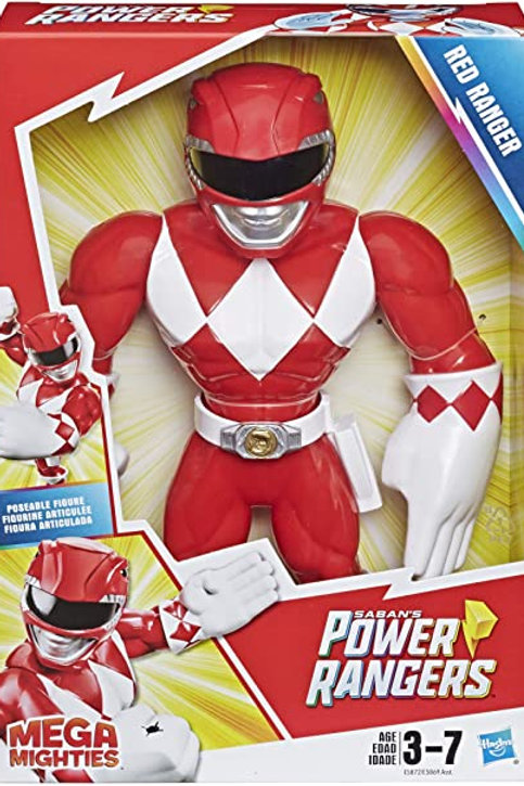 Power Rangers Playskool Preschool Mega Mighties Red Ranger Figure