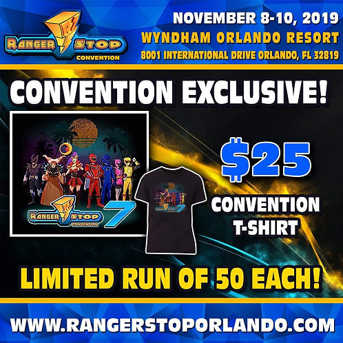 Rangerstop  Convention 2019 Exclusive Weekend T-Shirt