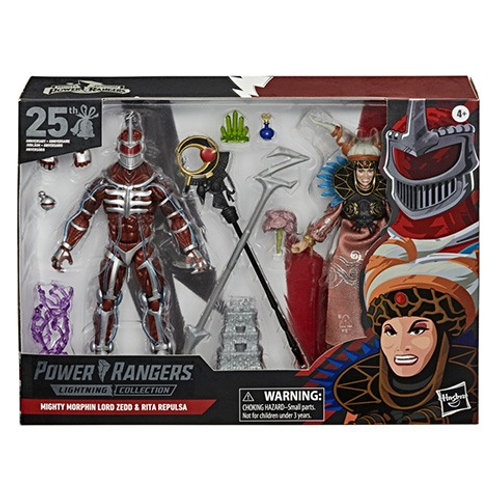 POWER RANGERS LIGHTNING COLLECTION Mighty Morphin Lord Zedd & Rita Repulsa