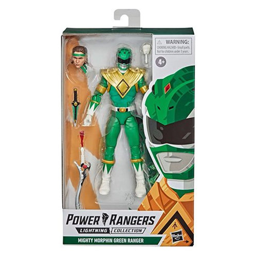 POWER RANGERS LIGHTNING COLLECTION (Wave 7) Mighty Morphin Green Ranger