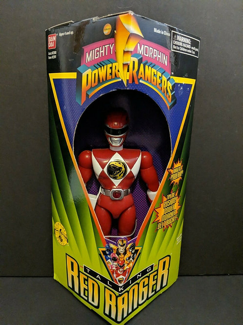 "Mighty Morphin Power Rangers 8"" Talking Red Power Ranger"