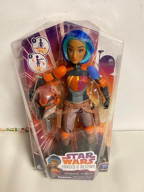 Star Wars Destiny Force Sabine Wren Clone Wars