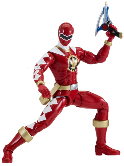 Power Rangers Legacy Collection Wave 4 Red Dino Thunder Ranger